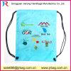 210d Polyester Nylon Drawstring Mesh Backpack Bag