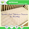Super Soft Bamboo Fabric Wholesale Waterproof Baby Crib Mattress Protector Cover