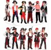Kids Boys Girls Pirate Costume for Kids Deluxe Costume Set