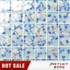 Fresh and Elegant Style Crystal Glass Mosaic for Washroom