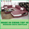 European Style Luxury Genuine Leather Couch