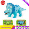 Kids Three-Horned Dinosaur Electrical Toy for Promotion