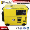 4.6kVA Single-Phase Portable Diesel Silent Type Generator