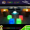 RGB 16 Colors Changing Illuminated Plastic LED Cube
