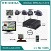 Dual SD Card Mobile DVR with Ahd 720p Mobile DVR 3G 4G WiFi GPS Real Time Monitoring for Bus Taxi