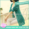Hand Knitting Soft Cardigan Ladies Cashmere Woman Sweater