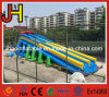 Colorful Double Lane Giant Inflatable Dry Slide for Amusement