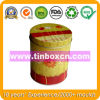 Metal Round Container with Food Grade, Tin Box