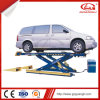 Chinese Manufacturer Top Quality Double Hydraulic Cylinders Scissor Car Lift for Garage
