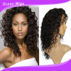 Quercy Hair Brazilian Virgin Hair Natural Full Lace Wig Human Hair Deep Wave (HW-036)