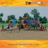 Children Plastic Heavy Duty Outdoor Playground Equipment Kids Slides