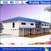 Prefab Modular Steel House with Pavilion Roof Integrated by Steel Structure and Color Steel Sandwich Panels