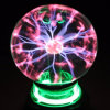 Child Education Tool USB Electric Lightning Sphere Lamp Magic Sound Control Static Ball Toy