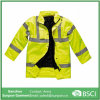 High Visibility Motorway Safety Jacket with Reflective Tape