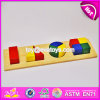 2017 New Design Toddlers Geometry Blocks Wooden Montessori Toys for 2 Year Old W12f009
