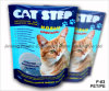 Pet/PE Stand up Cat Litter Pouch with Tear Notch