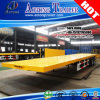 Tri Axles Platform 40FT Container Flatbed Semi Trailers for Vietnam