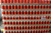 Glass Jar Sweet Red Pepper Strips