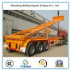Rear Dump Skeleton Container Transport Semi Truck Trailer From Factory