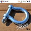 High Strength European Type Large Safety Pin Bow Shackle