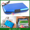 ABS Material and Credit Card Holder Business Men′s Wallet