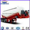 3 Axle 38cbm Bulk Cement Transport Tank Truck Semi-Trailer