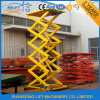 Stationary Hydraulic Auto Scissor Goods Lift with Ce