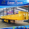 Low Flat Bed Semi Trailer with Panels