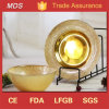 Gold Catering China Glass Charger Plates Wedding and Home