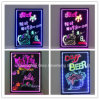 Rectangle Aluminum Frame RGB Flashing LED Writing Board