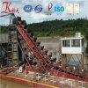 60-100cbm/Hour River Gold Panning Bucket Chain Dredger