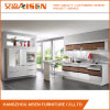 Color Combined Bakery Painted MDF, Particle Board Carcass Kitchen Cabinet