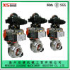 Stainless Steel Ss304 Sanitary Hygienic Explosion-Proof Pneumatic Actuator Butterfly Valves