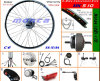 Superior Quality Electric Bike Conversion Kit with 200W-1000W High Speed Brushless Motor