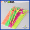 2017 Party Supply Disposable Plastic Artistic Drinking Straw/Crazy Straw (7100)