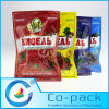 Recloseable Zip-Lock Stand up Pouch for Fruit Packaging