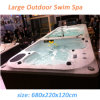 Multi-Function Luxury Separate Zone Swim SPA Pool Hot Tub (M-3373)