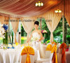 Beautiful 15m Clear Span Lining Wedding Tent