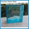 Colored/Blue/Red/Green/Clear Parallel Patterned Glass Block