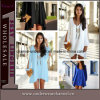 Wholesale Lady Cut out Long Sleeve Fashion Chiffon Dress (TKYA61)