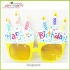 Happy Birthday Cake with Candle Party Glasses