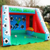 Inflatable Football Goal Shooter Game for Sports