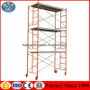 Convenient Rolling Tower Ladder Scaffolding