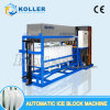 Koller 2 Tons Commercial Automatic Ice Block Making Machine for Supermarket