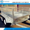 Tandem Axle Box Trailer with Cage