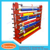 Heavy Duty Metal Double Sides Fabric Roll Display Rack