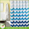 Waterproof Boat Print Nautical Navy Blue Shower Curtain