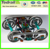 Cast Steel Railway Parts Bogie Wheel for Railway Freight Car