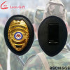 Factory Custom Leather Holder Metal Military Badges