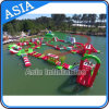 Giant Inflatable Water Toys, Inflatable Floating Water Park, Inflatable Water Slide and Trampoline Combo